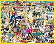 Jigsaw puzzle Americana 1950s The Fifties 1000 piece NEW Made in USA
