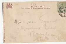 Brimscombe Postmark on Clyde Postcard, A863