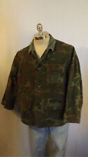 VTG American Field Camouflage Hunting Jacket Padded RH Shooter  sz Lrg