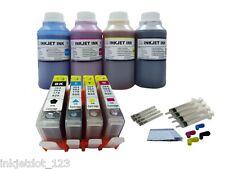 Refillable cartridge for HP 564XL Photosmart 3070a 3520 3521 +4x250ml 1P W/Chip