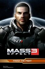 POSTER MASS EFFECT GAME SHEPARD KIRRAE MOREAU PS3 XBOX 360 2 3 N7 N 7 PC PS #8