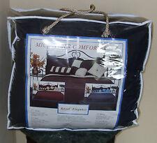 Royal Elegance Microfiber  Comforter Set Queen Size Reversible