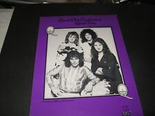 Queen 1976 US sheet music for Good Old Fashioned Lover Boy - M-