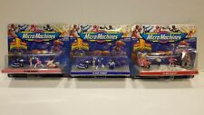 New Unopened Micro Machines POWER RANGERS #1 RED #3 BLUE #5 PINK LOT CIB