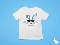 Easter Bunny in Sunglasses, Happy Easter shirt Kids Easter t-shirt