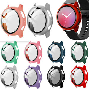 New Case Holder Cover Screen Protecter For Samsung Galaxy Watch Active 2 40/44mm