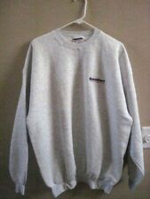Hanes Grey Sweatshirt & Port Authority White Navy Color Polo Shirt Both  XL NEW