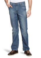 Mustang Herren Slim Fit Jeans-Hose | Tramper 5427 |Blau | Leichter Denim |NEU