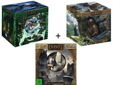 The Hobbit 1 & 2 & 3  : Extended COLLECTORS Edition (Blu ray 3D + 2D) BRAND NEW