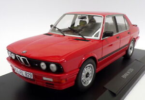 Norev 1/18 Scale Model Car 183262 - 1986 BMW M 535i - Red