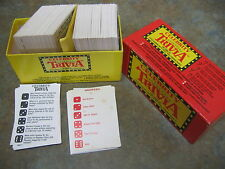 Celebrity Trivia Game Little Known Facts about Well Known People 1964 Vintage