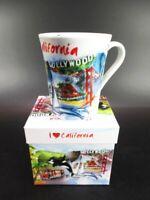 Kalifornien Kaffeetasse Becher,Souvenir Tasse USA mit Foto Gift Box,coffee mug