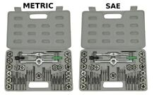 Scratch & Dent NEW 80 piece TAP AND DIE SET both SAE & METRIC + CASES