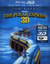 Polar Express [3D] (2011, REGION A Blu-ray New) BLU-RAY/WS/3dtv