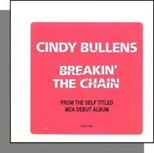 Cindy Bullens - Breakin' the Chain - New 1989 MCA Promo CD Single!