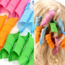 18Pcs Hair Rollers DIY Curlers Curls Magic Twist Styling Tools Hair Styles Maker