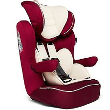 Nania Advance XP Luxe 1-10yr Baby Child Car Seat Booster Red 3T FF
