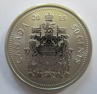 2015 CANADA 50 CENTS SPECIMEN HALF DOLLAR COIN
