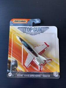 MATCHBOX Skybusters Plane -Top Gun Maverick BOEING F/A-18 SUPER HORNET ROOSTER