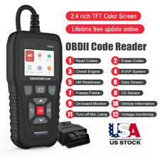OBDII EOBD Car Code Reader Universal Automotive Scanner Battery Test Diagnostic