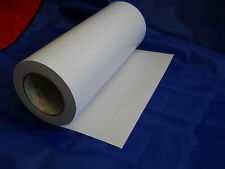 "Pressure Sensitive Adhesive film in roll, 12"" x 44 m. Free lower US ship."