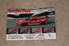 2009 Racers Edge Motorsports Mazda RX-8 GT Rolex 24 Grand Am postcard