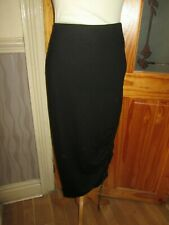 NEXT Maternity Black Long Stretchy Skirt Size 8 EUR 36 With Tags
