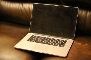 "MacBook Pro Retina A1398 15"" 2.6Ghz i7 8Gb 256GB LATE 2012 BAD LCD READ"