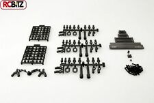 "SCX10 TR suspensión alli Metal enlaces Set 12.3"" 313mm larga distancia entre ejes Honcho Jeep"