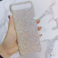 Bling Glitter Luxury Diamond Hard Phone Case Cover For Samsung Galaxy Z Flip 5G