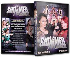 Official Shimmer Women Athletes Volume 62, Female Wrestling Event DVD
