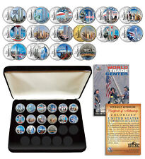 * COMPLETE SET * WTC 9/11 US MINT NEW YORK STATE Quarter 16-Coin Set with BOX