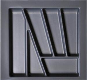 50er Besteckeinsatz Besteckkasten Besteckschublade  B401-490mm T390-440mm H50mm