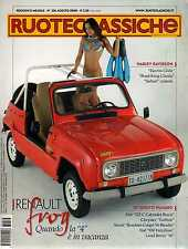 Ruoteclassiche 236 agosto 2008 Alfa Romeo Duetto 1966-2008 Renault 4 Frog 1987
