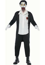 Living Dead Dolls Haemon Horror Men's Vampire Doll Adult Costume Size Small