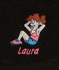 Personalised Ladies Fitness / Gym Towel - Embroidered