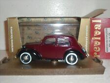 Brumm Fiat 1100 508 C berlina maroon/black 1937-39