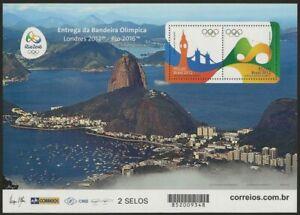 Olympics Way from London to Rio 2016 Rio 2012 London