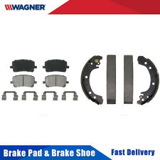 Front + Rear Wagner Disc Brake Pads + Brake Shoes Set For TOYOTA COROLLA 2003-08