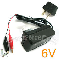 6V 6 Volt  Sealed Lead Acid Rechargeable Battery Charger APC UPS SLA + AU Plug