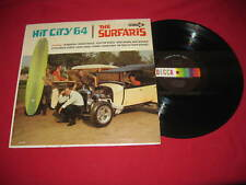 """THE SURFARIS ""HIT CITY 64"" RARE 1964 DECCA LP DL-4487 VERY NICE LQQQK!!"