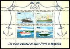 St. Pierre & Miquelon Bl. Schiffe 1994 ** Bl. 3