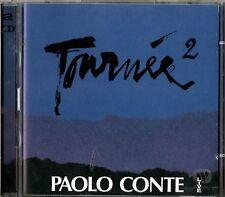 CONTE PAOLO TOURNE'E 2 LIVE DOPPIO CD 1998 + TESTI DEI BRANI