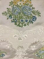 Clarence House Nancy Corzine Flores Lace Fabric Drapery Upholstery.  3 Yards