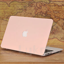 "Baby Pink  ( Rose Quartz) Matt Hard Case Cover For Macbook Air 13"" A1369 / A1466"