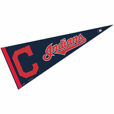 "Cleveland Indians Full Size 12"" X 30"" MLB Pennant"