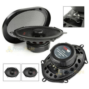 "5x7"" 2 Way Coaxial Speaker System 150 Watts Max Power 4 Ohm DS18 Z-574 Elite"