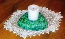 portacandela in mosaico fatto a mano