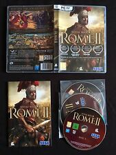 PC - Total War Rome II (Pal UK, Completo con Códigos Gastados)