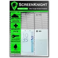 ScreenKnight Sony Xperia X Compact FULL BODY SCREEN PROTECTOR - military shield